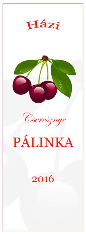 ingyen letölthető cseresznye pálinka címke